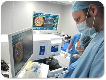 Le Laser pour la cataracte