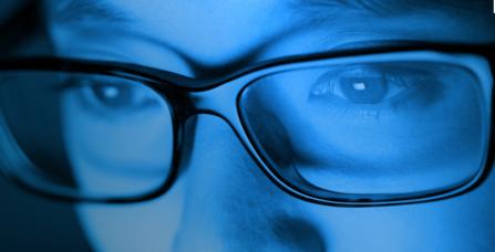 Les dangers de la lumière bleue